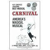 Carnival! Broadway Poster
