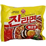 Ottogi Jin Hot Ramen, 4.23-ounce Packages (Pack of 20)