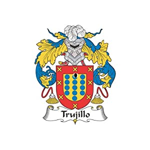 Amazon.com : Trujillo Family Crest Coat of Arms Mouse Pad : Office