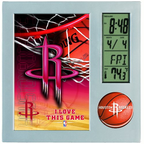 NBA Houston Rockets Digital Desk Clock