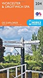 Worcester and Droitwich Spa (OS Explorer Map)