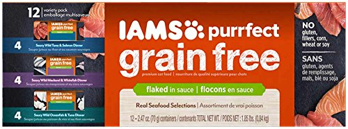 iams-purrfect-grain-free-flaked-in-sauce-variety-pack-canned-cat-food-247-ounces-pack-of-12