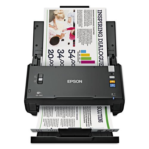 Epson - Workforce Ds-560, 600 X 600 Dpi, Black B11B221201 (Dmi Ea