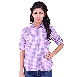 FBBIC Women's Casual Wear Cotton Shirt