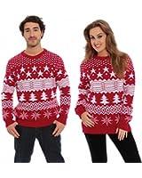 Christmas Xmas Jumper Sweater Mens Ladies Unisex Novelty Classic Naughty Santa Fairisle Nordic Rude Rudolph Reindeer