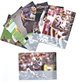 2008 Upper Deck First Edition Washington Redskins Complete Team Set of 7 cards including Clinton Portis, Colt Brennan rookie and more