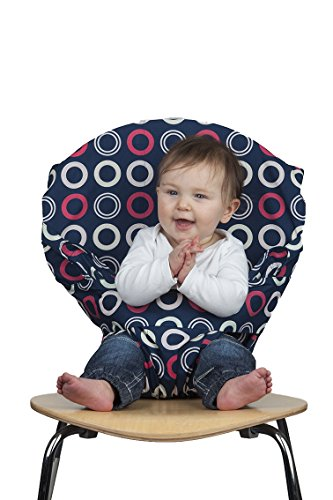 Totseat Chair Harness: The Washable and Squashable, Portable Travel High Chair in Blueberry (Totseat Chair Harness compare prices)