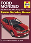 Ford Mondeo Petrol and Diesel Service...