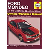 Ford Mondeo Petrol and Diesel Service and Repair Manual: 2003 to 2007 (Haynes Service and Repair Manuals)by R. M. Jex