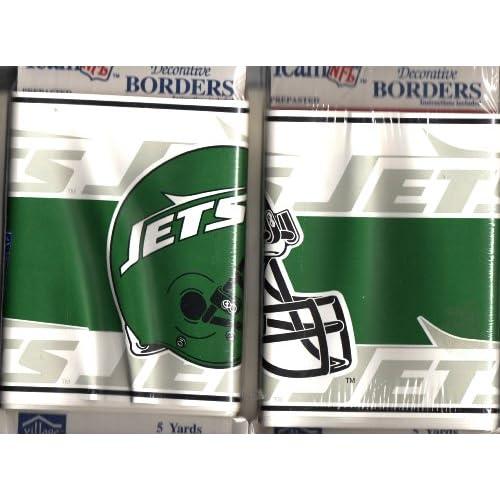 500x500px NY Jets Wallpaper Border