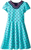 Hartstrings Big Girls' Printed Cotton Spandex Dress