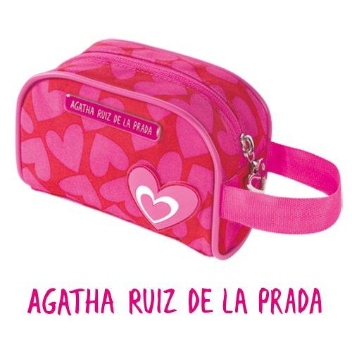 Washing Bag Agatha Ruiz Case Vanity de la Prada, dimensioni: 15 x 10 x 6 cm