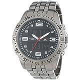 U.S. Polo Assn. Classic Men's US8496  Gunmetal-Tone Analog-Digital Watch