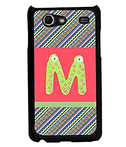 PrintVisa Metal Printed Alphabet Designer Back Case Cover for Samsung Galaxy S Advance I9499-D5055