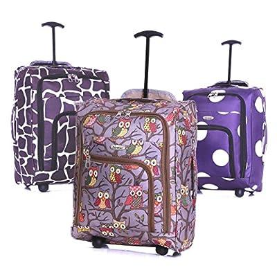 Karabars Cabin Bag 50 x 35 x 20 cm - 3 Years Warranty!