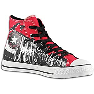 CONVERSE 107366F CT 100 NY SCAPEZ HI RED ~ Shoes e42a7a172