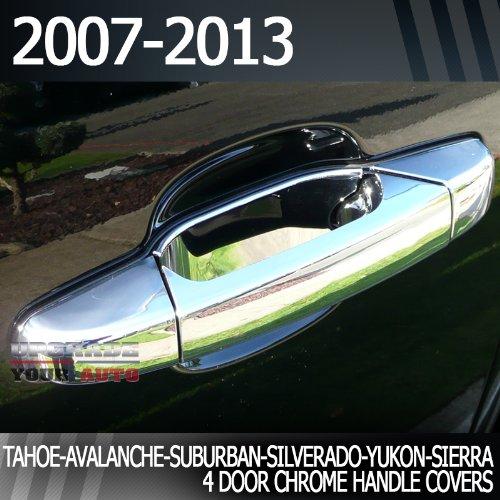 CHEVROLET SILVERADO//GMC SIERRA 2007-2013 TFP CHROME ABS TAILGATE HANDLE COVER