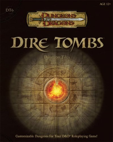 Dire Tombs: Dungeon Tiles (Dungeons & Dragons Accessories) (Bk. 6) PDF