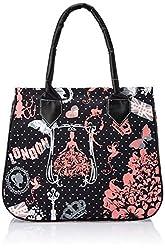 Kanvas Katha Women's Handbag (Black) (KKHB005B)
