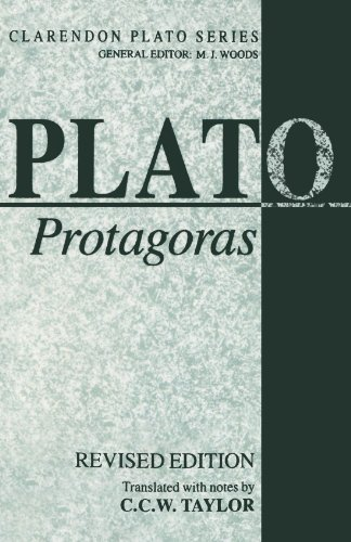 Protagoras (Clarendon Plato Series)
