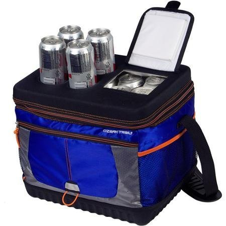 useful-affordable-30-can-xtreme-cooler-in-blue-and-orange-with-molded-cup-holders-and-quick-in-acces