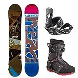 HEAD(ヘッド) スノーボード 3点セット 板 バインディング ブーツ メンズ 板150cm/バインM/ブーツ25.0cm board-set-1-150-M-250