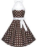 Zarlena Rockabilly 50er Polka Dots Kleid in mehreren Farben und Größen 34 36 38 40 42 44