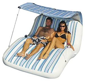 Swimline Luxury Cabana Inflatable Pool Lounger by Swimline