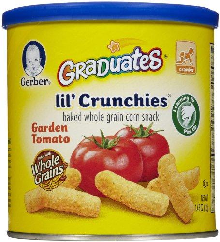 Gerber Graduates Lil' Crunchies Tomato, 1.48 Oz