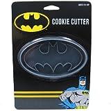 ICUP DC Batman Logo Cookie Cutter, Clear