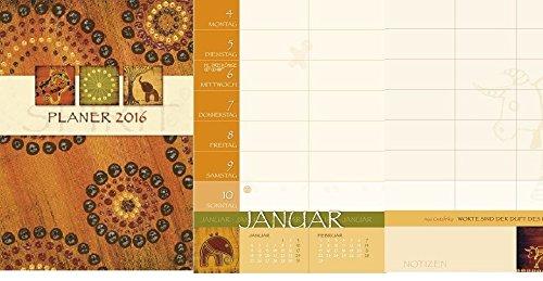 """Familienplaner Buch """"Spirit* 2016 Spiralkalender Timer Terminkalenderbuch"""