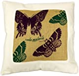 Go Fly Away, Cotton & Jute Cushion Cover, By Crane's - Homeware