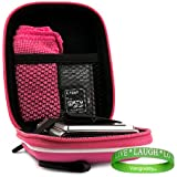 HOT PINK Extra Thick Shell w/ Reinforced Exterior Case for Canon PowerShot Camera SX600 530 520 340 330 320 130 115 110 A4000 A2600 A24000 A2300 260 230