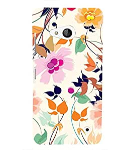 Vizagbeats Flowers and Leaves Back Case Cover for Nokia Lumia 550