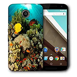 Snoogg Inside Water Designer Protective Phone Back Case Cover For Motorola Nexus 6