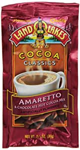 Land O Lakes Cocoa Classics, Chocolate & Amaretto,12 - 1.25-Ounce Packets (Pack of 3)