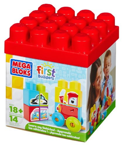 Mega Bloks First Builders Learn My Vehicles
