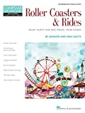 img - for Roller Coasters & Rides: Eight Duets for 1 Piano, 4 Hands Composer Showcase Intermediate Piano Duets book / textbook / text book