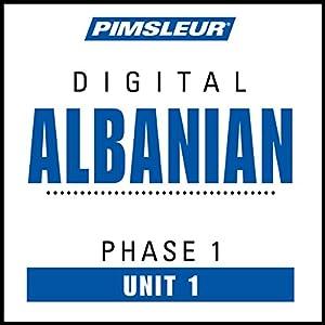 Albanian Phase 1, Unit 01 Audiobook