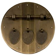 Triple Round Face Plate 6-1/4''