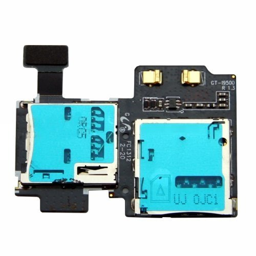 BislinksR SD Sim Card Reader Holder Slot Flex Cable Ribbon For Samsung Galaxy S4 GT i9505 by BisLinks?? [並行輸入品]