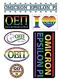 Omicron Epsilon Pi Sheet - Pride Theme. 8.5