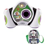 Vtech Buzz Lightyear Digital Camera With Bagby Vtech