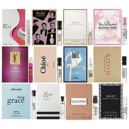 Women's 12 pc Designer Fragrance Sampler