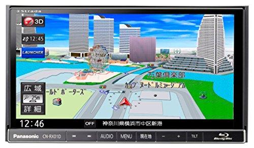 ストラーダ ブルーレイ内蔵 7V型180mmモデル 美優ナビ CN-RX01D