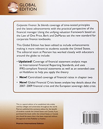 Solutions Manual for Corporate Finance