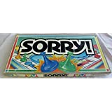 1992 Sorry Board Game by Parker Brothers