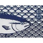 【 kenema 気音間 】 注染 手ぬぐい 「 出世魚 」 ~ 鰤 ( ブリ ) ~