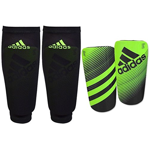 adidas Unisex Ghost Guard Solar Green/Black Soccer Equipment LG (Shin Guards For Kids compare prices)