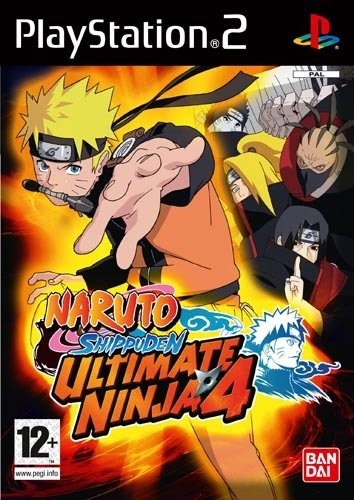 Naruto Shippuden Ultimate Ninja 4 /PS2 (Ps2 Ninja Games compare prices)